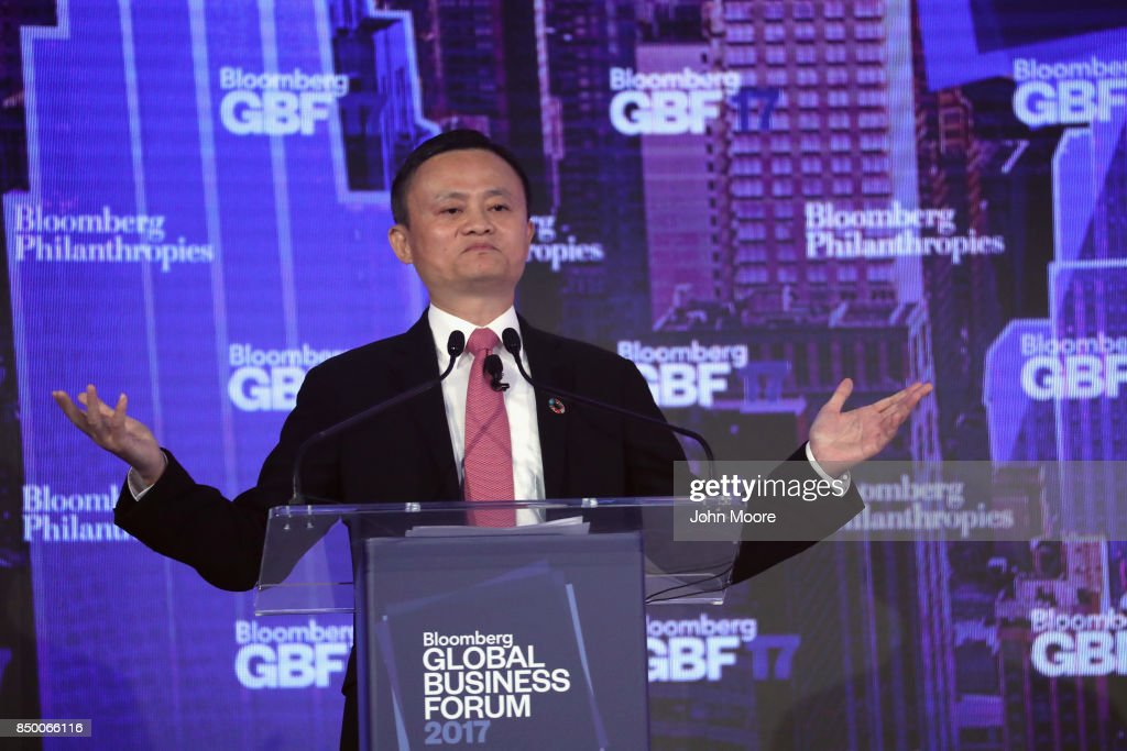 Bloomberg Global Business Forum Held In New York