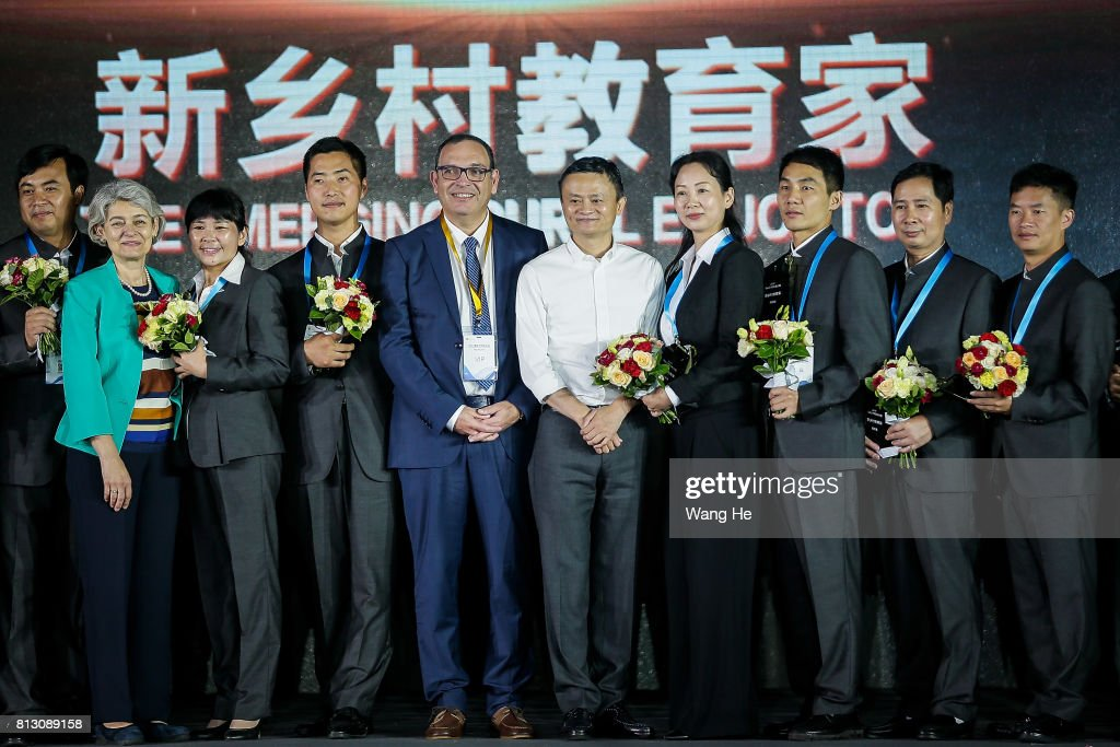 Jack Ma Awards Rural Schoolmasters In Western China