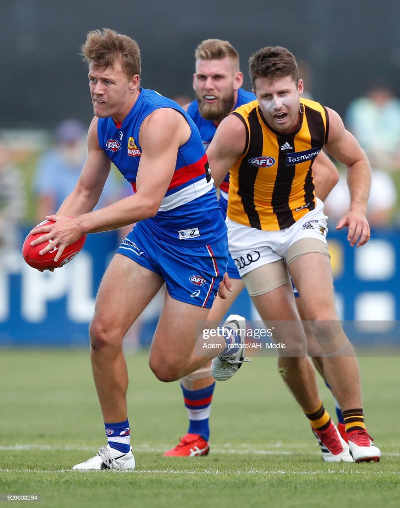 Western Bulldogs v Hawthorn - JLT Community Series : News Photo