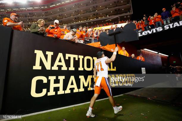 Jack Maddox of the Clemson Tigers walks off the field after his teams 4416 win over the Alabama Crimson Tide in the CFP National Championship...