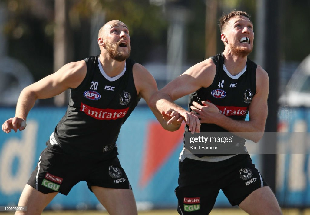 Collingwood Magpies Media Session : News Photo