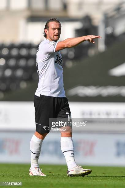 Jack Marriott of Derby County during the Sky Bet Championship match between Derby County and Reading at the Pride Park, Derby, England, on September...