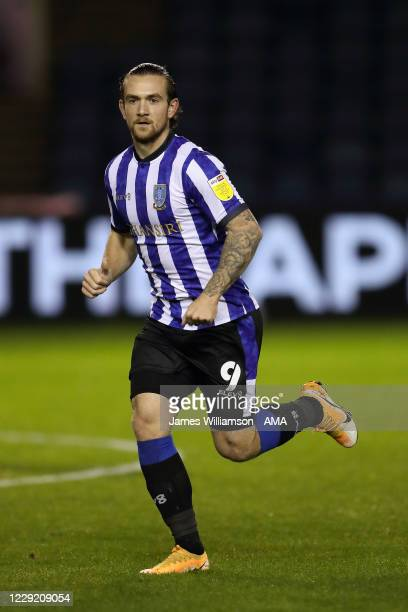 Jack Marriott of Sheffield Wednesday during the Sky Bet Championship match between Sheffield Wednesday and Brentford at Hillsborough Stadium on...