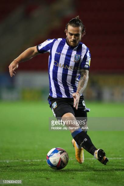 Jack Marriott of Sheffield Wednesday during the Sky Bet Championship match between Rotherham United and Sheffield Wednesday at AESSEAL New York...
