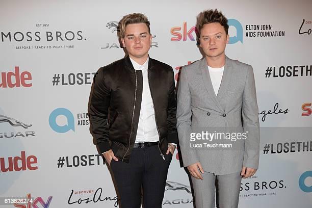 Jack Maynard and Conor Maynard attend the 2016 Attitude Magazine Awards on October 10 2016 in London England