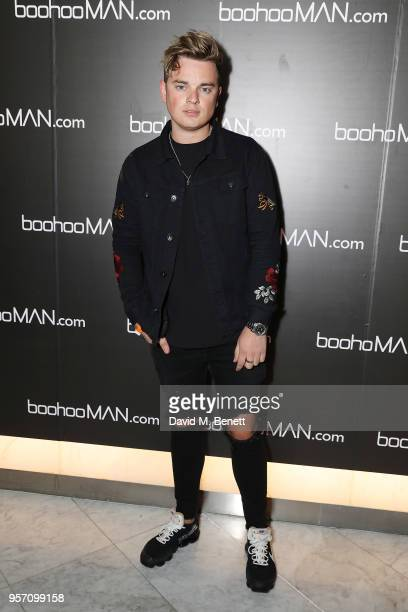 Jack Maynard attends boohooMAN by Dele Alli Launch at Radio Rooftop on May 10 2018 in London England