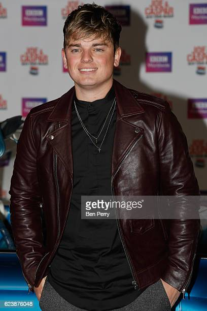 Jack Maynard attends the UK Premiere of 'Joe Casper Hit The Road USA' at Cineworld Leicester Square on November 17 2016 in London England