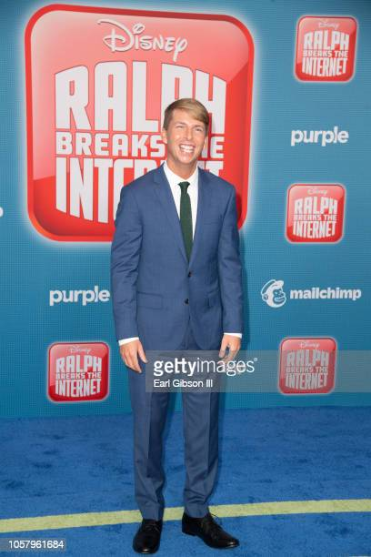 Jack McBrayer attends the Premiere Of Disney's Ralph Breaks The Internet on November 5 2018 in Los Angeles California