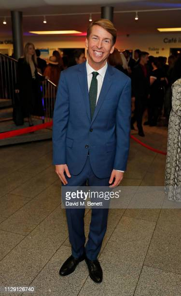 Jack McBrayer attends the press night after party for 'Waitress The Musical' at Cafe At The Crypt St MartinintheFields on March 7 2019 in London...