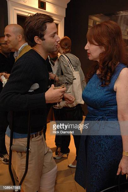 """Jack McCollough and Lynn Hirschberg during """"T Style"""" Magazine Launch Party at Bergdorf Goodman in New York City, New York, United States."""