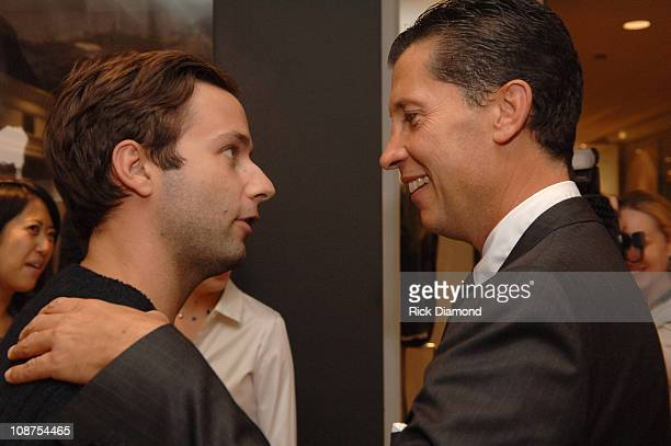 """Jack McCollough and Stefano Tonchi during """"T Style"""" Magazine Launch Party at Bergdorf Goodman in New York City, New York, United States."""