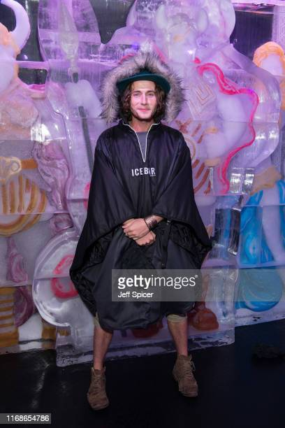 Jack McEvoy attends a VIP event in celebration of Elijah Rowen's birthday at ICEBAR on August 17 2019 in London England