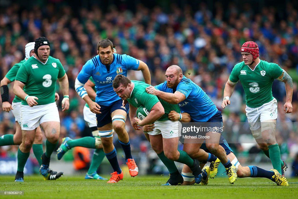 Ireland v Italy - RBS Six Nations : News Photo