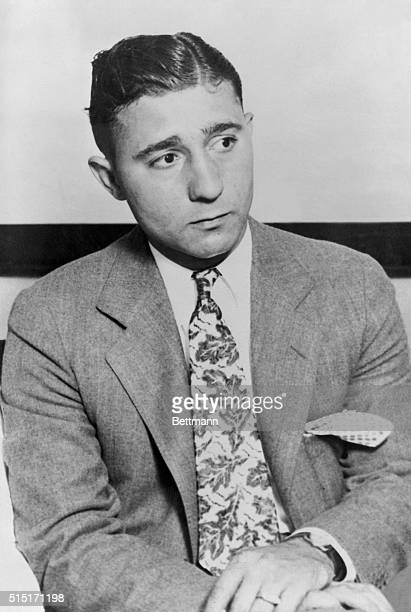Jack McGurn chief henchman of Al Capone and reputed machine gun operating expert whom Dr Loyal W Tacker Chicago dentist who stated that he was taken...