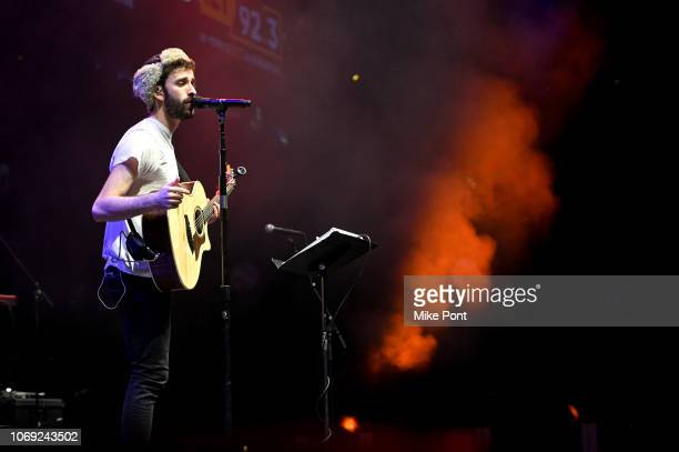 Jack Met of AJR performs onstage at Not So Silent Night presented by Radiocom at Barclays Center on December 6 2018 in New York City