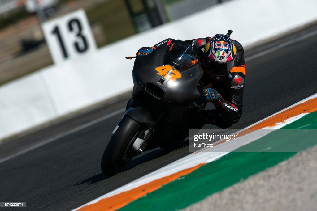MotoGP Tests In Valencia : News Photo