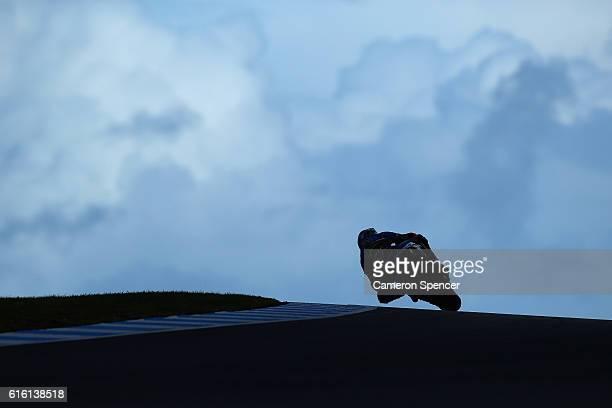 Jack Miller of Australia and Estrella Galicia OO Marc VDS rides during free practice for the 2016 MotoGP of Australia at Phillip Island Grand Prix...