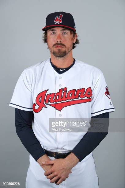 Jack Murphy of the Cleveland Indians poses during Photo Day on Wednesday February 21 2018 at Goodyear Ballpark in Goodyear Arizona