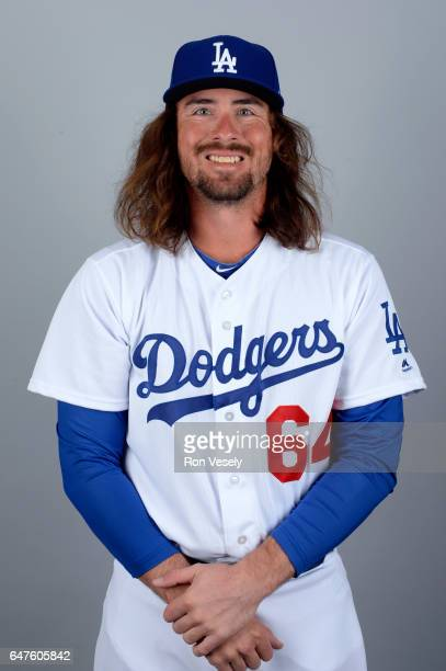 Jack Murphy of the Los Angeles Dodgers poses during Photo Day on Friday February 24 2017 at Camelback Ranch in Glendale Arizona