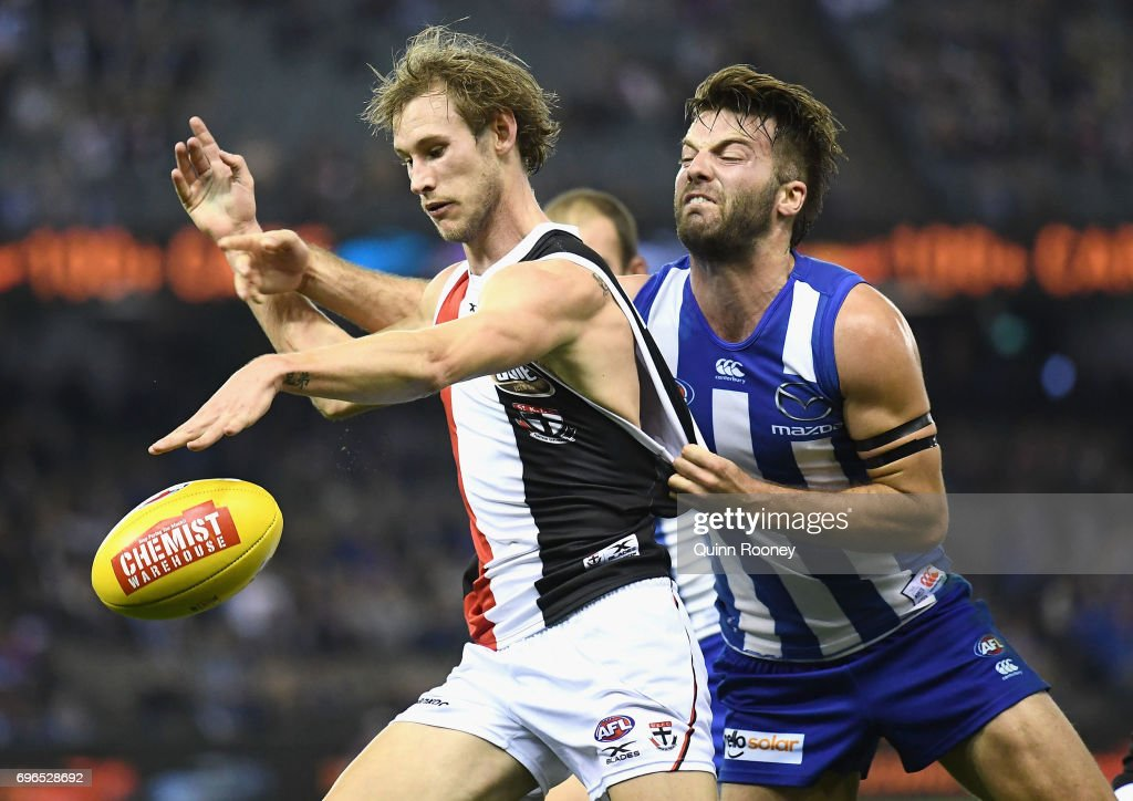 AFL Rd 13 - North Melbourne v St Kilda : News Photo