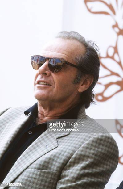 Jack Nicholson American actor producer screenwriter and directo a threetime Academy Award winner Lido di Venezia Italy 13th September 1995