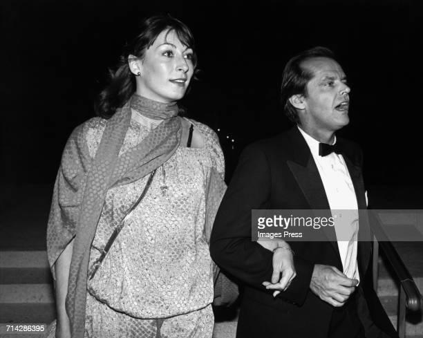 Jack Nicholson and Anjelica Huston circa 1975 in New York City