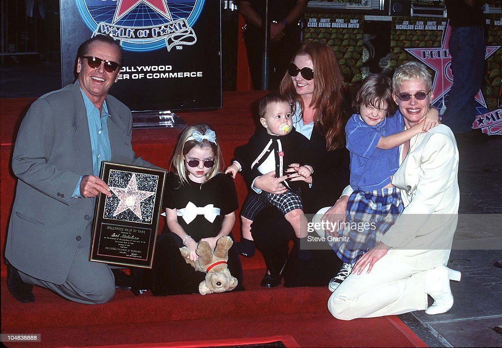 jack nicholson honored th star on the hollywood walk of  jack nicholson and guests during jack nicholson honored 2 077th star on the hollywood walk