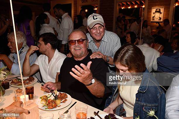 Jack Nicholson and Ronald O Perelman attend Apollo in the Hamptons 2016 at The Creeks on August 20 2016 in East Hampton New York