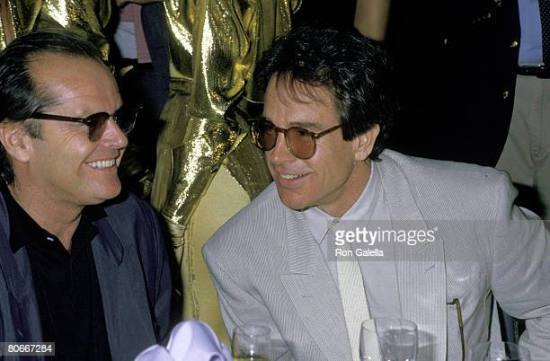 Jack Nicholson and Warren Beatty