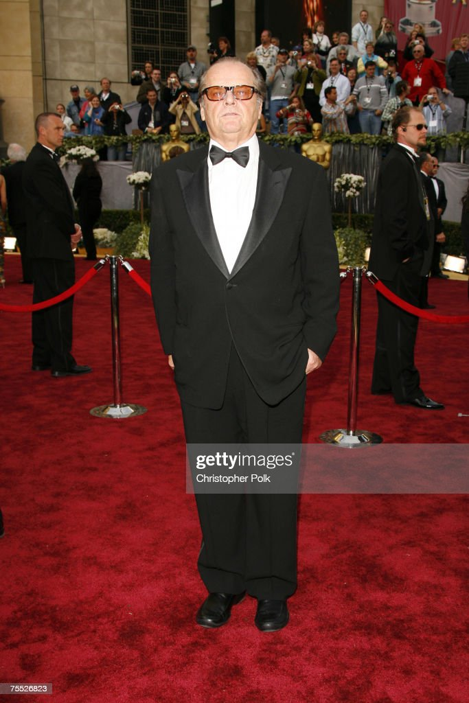 Jack Nicholson at the The 78th Annual Academy Awards - Arrivals at Kodak Theatre in Hollywood, California.