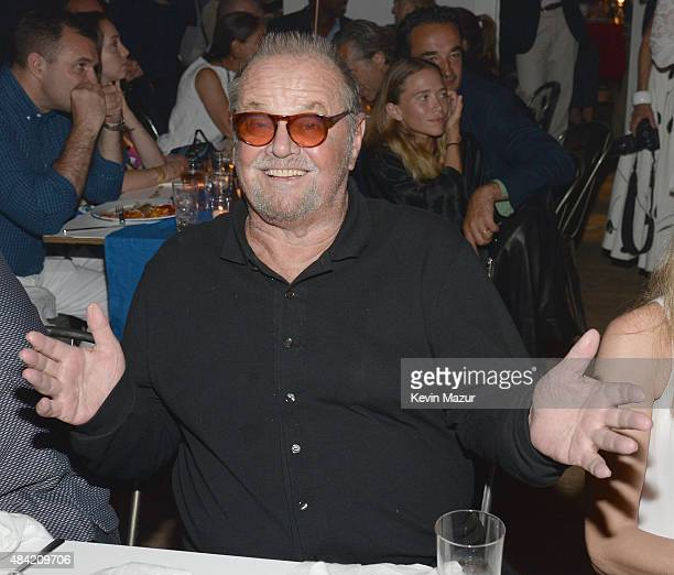 Jack Nicholson attends Apollo in the Hamptons 2015 at The Creeks on August 15 2015 in East Hampton New York