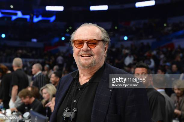 Jack Nicholson attends the NBA All-Star Game 2018 at Staples Center on February 18, 2018 in Los Angeles, California.