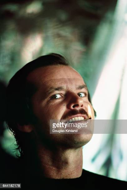 Jack Nicholson Biting Burning Match