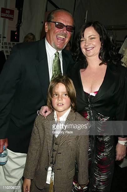 Jack Nicholson daughter Jennifer Nicholson designer and her son Sean