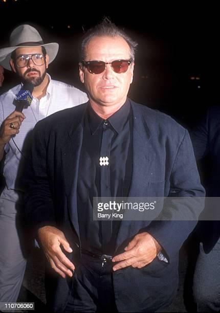 Jack Nicholson during Batman Los Angeles Premiere at Mann Village theater in Westwood California United States