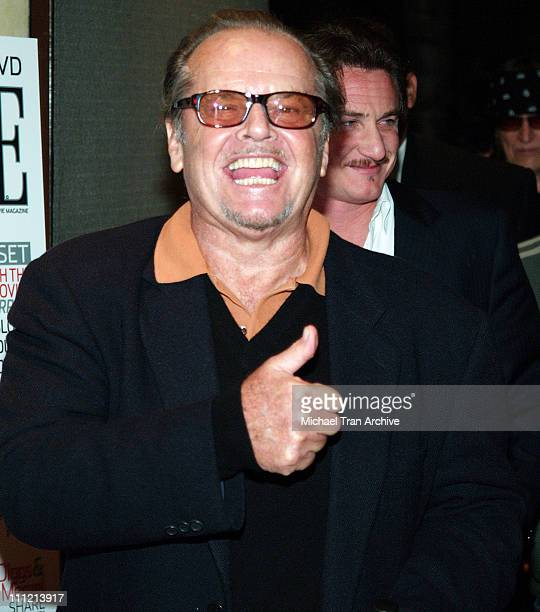 """Jack Nicholson during Livestyle's AFI Premiere Lounge 2005 Screening of """"Sorry Haters"""" - After Party Hosted by Bacardi, Svedka Vodka, Stella Artois..."""