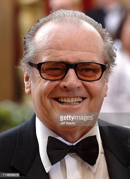 Jack Nicholson during The 78th Annual Academy Awards Red Carpet at Kodak Theatre in Hollywood California United States