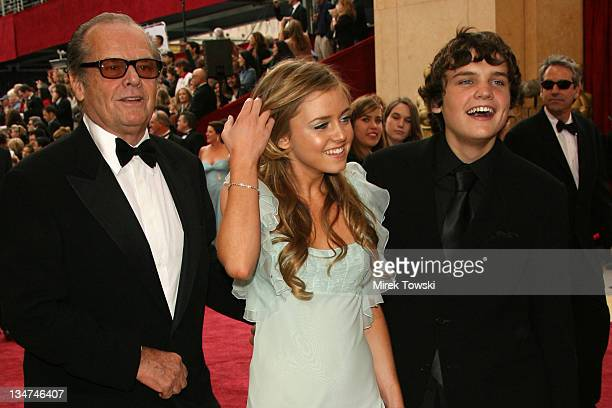 Jack Nicholson Lorraine Nicholson and Raymond Nicholson