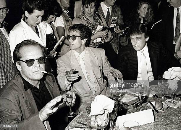 Jack Nicholson Warren Beatty and Donald Trump
