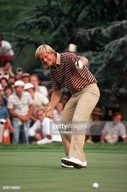 Jack Nicklaus at the US Open Championship