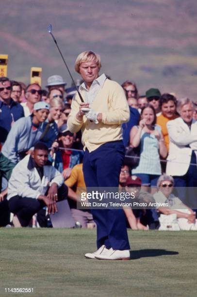 Jack Nicklaus competing in the PGA 1973 Tournament of Champions at La Costa Resort and Spa.