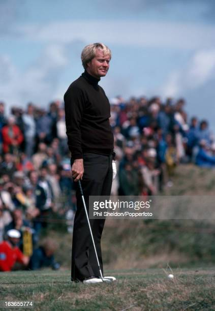 Jack Nicklaus of the United States during the British Open Golf Championship held at the Royal Lytham and St Anne's Golf Club in Lytham circa July...