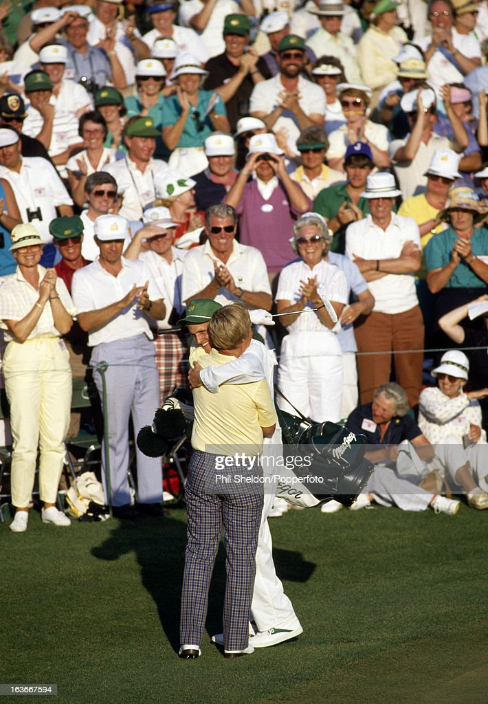 Jack Nicklaus Wins His Sixth US Masters Golf Tournament : News Photo