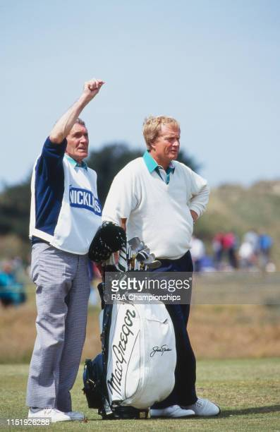 Jack Nicklaus of the United States looks on during The 120th Open Championship held at Royal Birkdale Golf Club from July 18211991 in Southport...