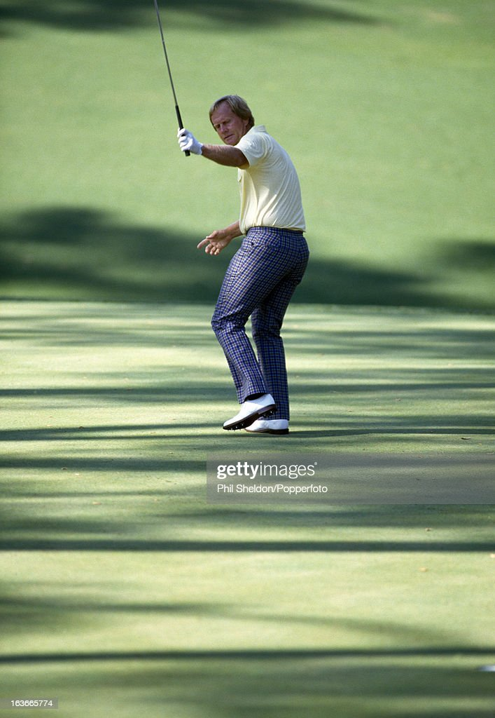 Jack Nicklaus During The US Masters Golf Tournament : News Photo
