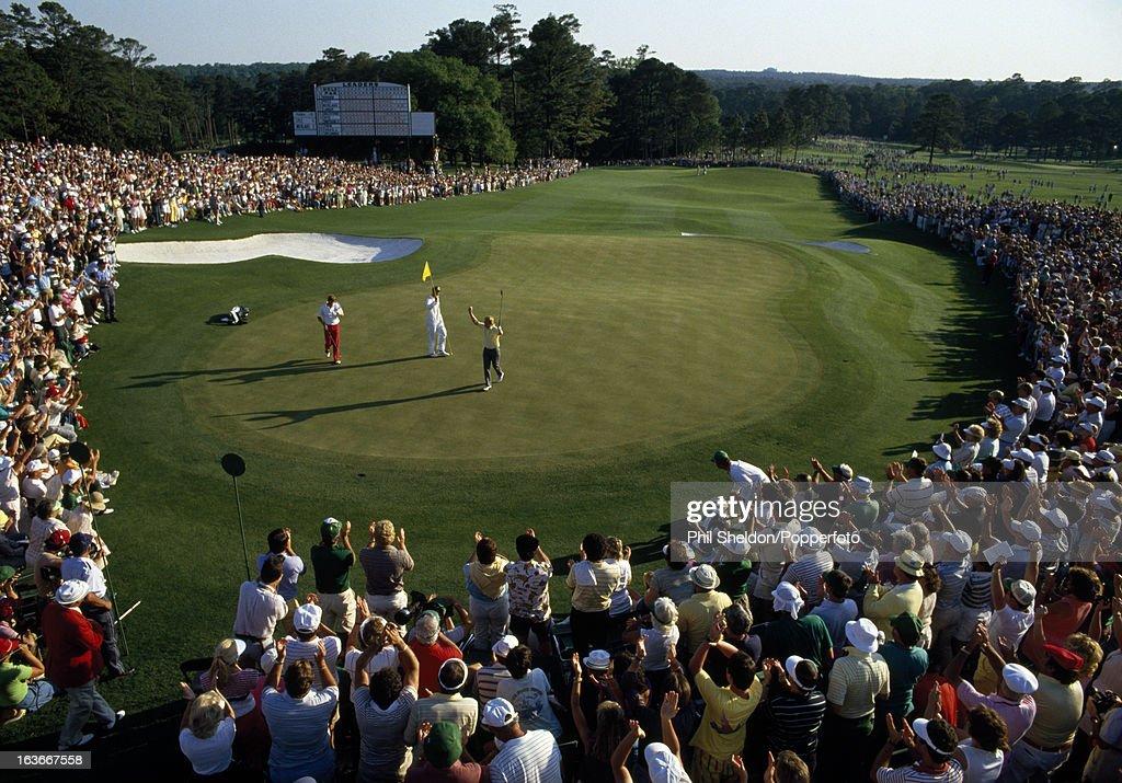Jack Nicklaus Wins His Sixth US Masters Golf Tournament : ニュース写真