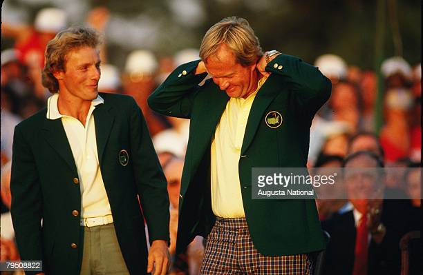 Jack Nicklaus Green Jacket Stock Photos and Pictures | Getty Images