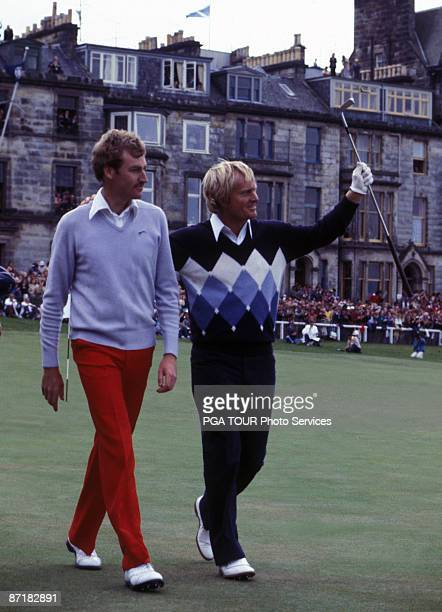 Jack Nicklaus wins British Open Championship July 15 1978 held at the Old Course in St Andrews Fife Scotland Nicklaus beat Simon Owen to win...