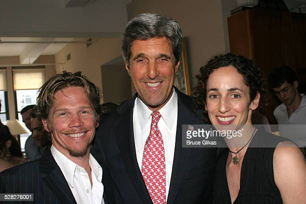 Jack Noseworthy John Kerry and Nina Goldman