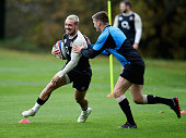 bagshot england jack nowell moves past
